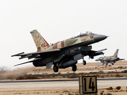 מטוס סופה ישראלי (ארכיון) (צילום: רויטרס, חדשות)