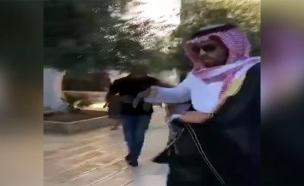 צפו: כך הגיבו בעולם הערבי לתקיפת הבלוגר הסעודי (צילום: חדשות)