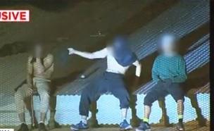 מהומה בכלא (צילום: 7NewsBrisbane, twitter)