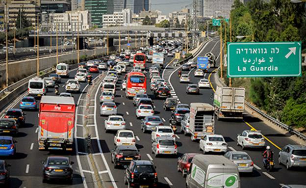 פתרון לעומסי התנועה במרכז הארץ? (צילום: פלאש 90 \ Serge Attal, חדשות)