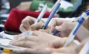 מבחן, פסיכומטרי (צילום: חדשות 2)