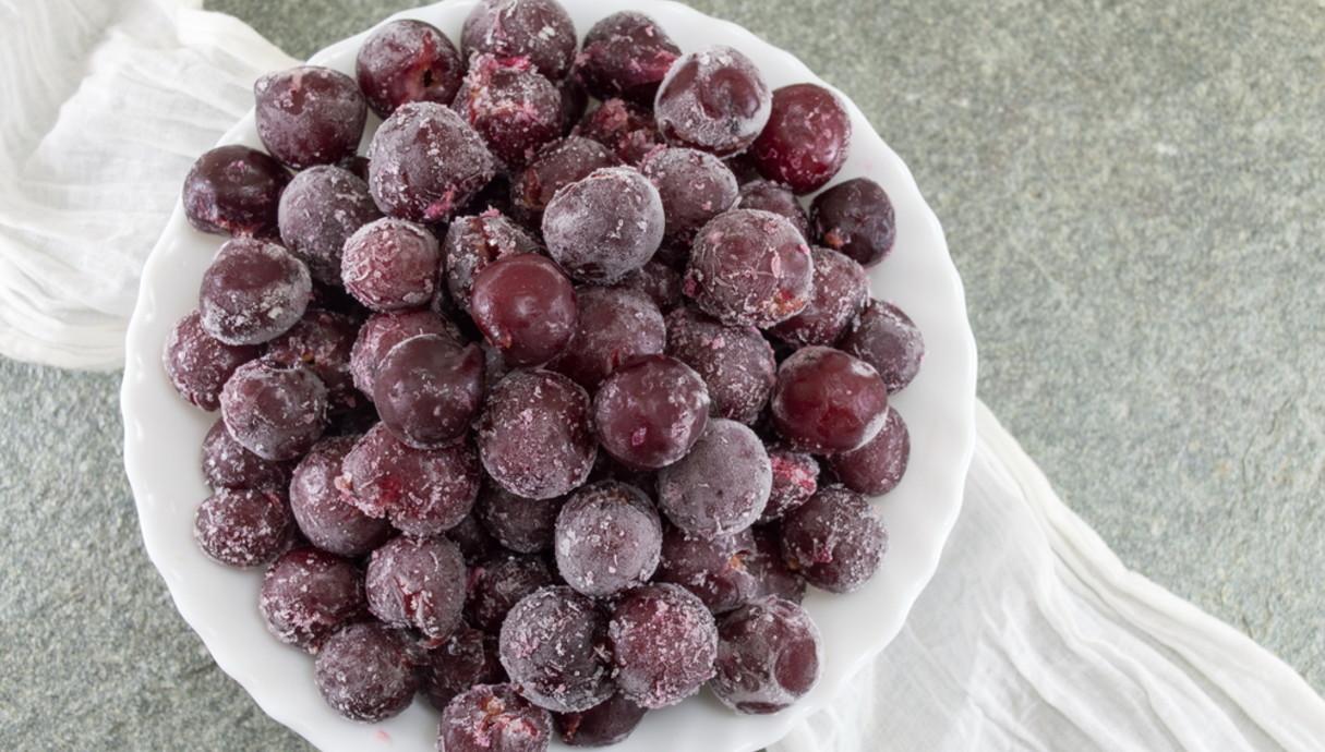 ענבים קפואים