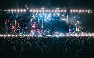 ג'ון בון ג'ובי בהופעה בישראל  (צילום: אורית פניני)