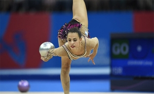 לינוי אשרם - בדרך לאולימפיאדה? (צילום: עמית שיסל, באדיבות הועד האולימפי, חדשות)