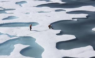 אלסקה נמסה (צילום: רוייטרס, חדשות)