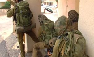 תרגיל צבאי באשקלון, ארכיון (צילום: החדשות)