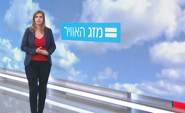אילנית מזג אוויר (צילום: חדשות)