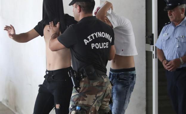 החשודים באונס הקבוצתי בקפריסין