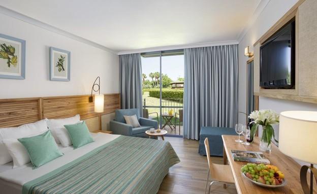 חדר במלון (צילום: אורי אקרמן)