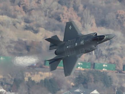 מטוס חמקן F-35A (צילום: George Frey/Getty Images)