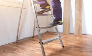 סולם גבוה  (צילום: kateafter   Shutterstock.com )