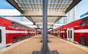 קרונות של רכבת ישראל בתנועה (צילום: רכבת ישראל)