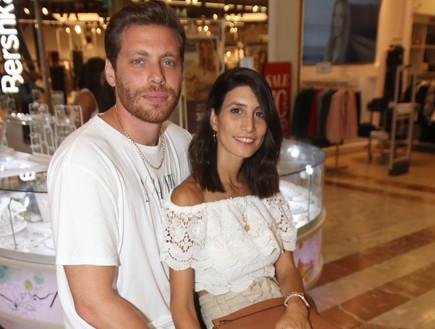 שרונה מרלין והחבר, יולי 2019
