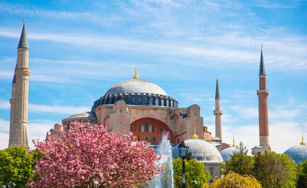 כנסיית החוכמה הקדושה באיסטנבול  (צילום: By Dafna A.meron)