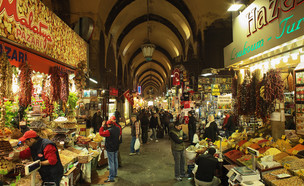 שוק התבלינים באיסטנבול  (צילום: kateafter | Shutterstock.com )