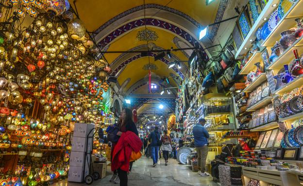 הבאזאר הגדול באיסטנבול  (צילום: By Dafna A.meron)