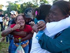 """ברזיל: """"נאלצנו לאחסן את הגופות במשאית קירור"""""""