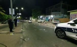 זירת הרצח  (צילום: חדשות)
