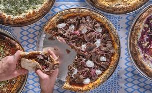 פיצה יוונית גרקו  (צילום: אנטולי מיכאלו, יחסי ציבור)