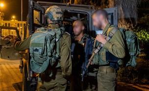 """לוחמי צה""""ל בזמן אירוע היתקלות עם מחבל בגבול רצועת  (צילום: באדיבות גרעיני החיילים)"""
