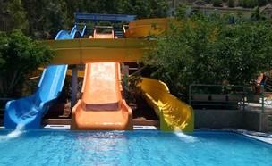 המלון בכרתים שבו נהרגה בת ה-7 (צילום: מתוך אתר המלון aqua sun village)