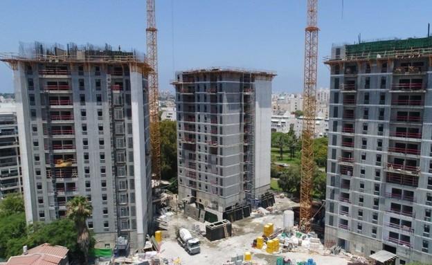פרויקט הדיור המוגן הגדול בישראל לגיל הזהב (צילום: חברת עמיגור)