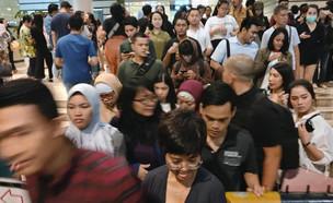 רעידת אדמה באינדונזיה (צילום: ap)