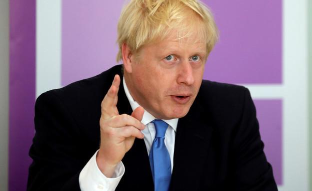 בוריס ג'ונסון, ראש ממשלת בריטניה (צילום: Kirsty Wigglesworth, רויטרס)