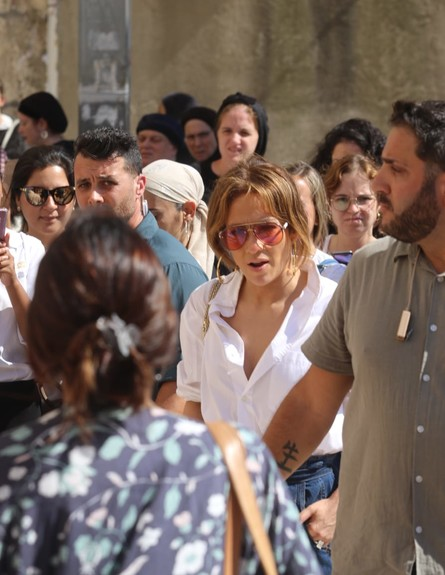 ג'ניפר לופז בירושלים