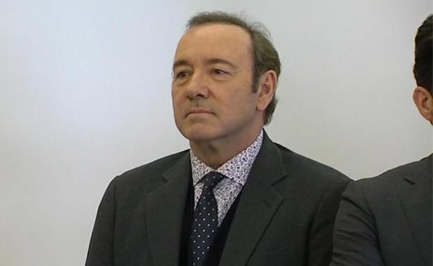 קווין ספייסי בבית המשפט (צילום: Sky News, חדשות)