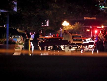 זירת הרצח ההמוני באוהיו (צילום: Sakchai Lalit | AP)