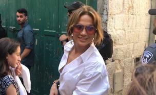 """ג'ניפר לופז – השגרירה החדשה של ישראל 3 (צילום: מתוך """"ערב טוב עם גיא פינס"""", קשת 12)"""