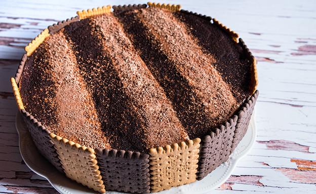 עוגת ביסקוויטים (צילום: יעל יצחקי, אוכל טוב)