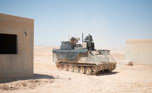 """כלי הרכב הקרבי המשוריין של צה""""ל בעתיד (צילום: אגף דוברות והסברה במשרד הביטחון)"""