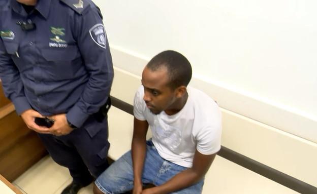 הארכת מעצר לשי טסמה החשוד בדריסה בקריית גת (צילום: החדשות )