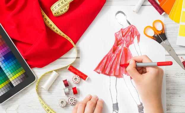 לימודי עיצוב אופנה (צילום: By REDPIXEL.PL, shutterstock)