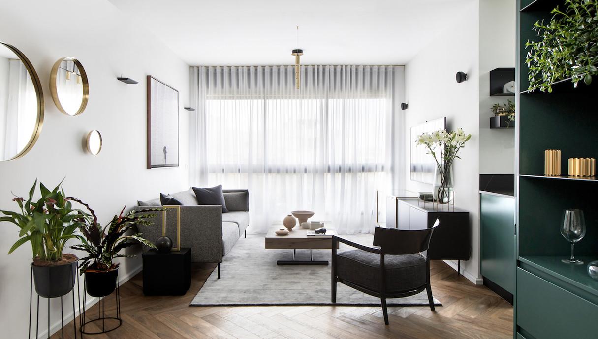 דירה בתל אביב, עיצוב רונה טמקין - 4