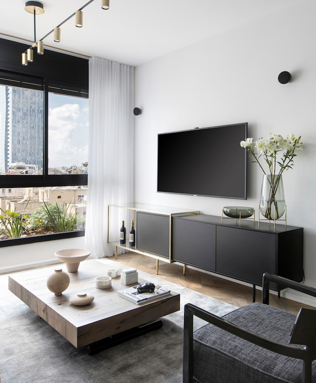 דירה בתל אביב, עיצוב רונה טמקין - 6