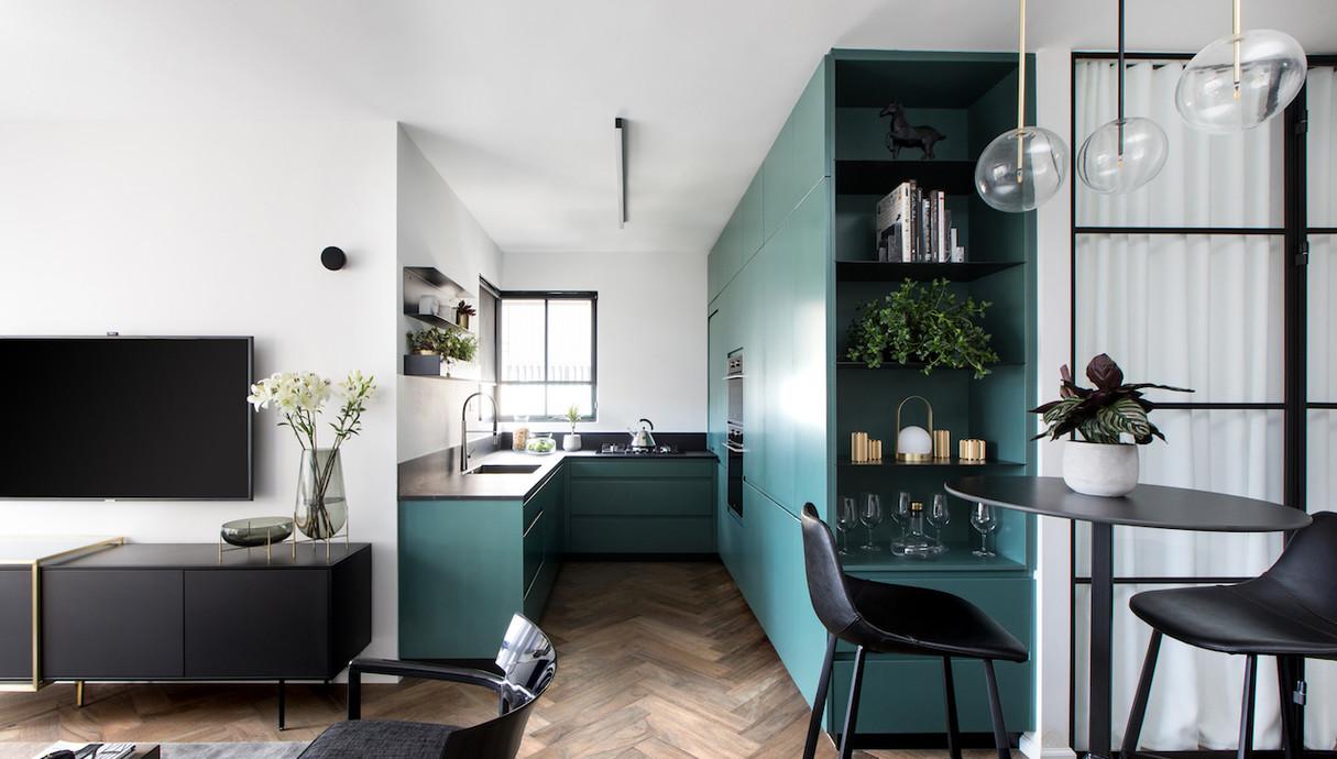 דירה בתל אביב, עיצוב רונה טמקין - 9