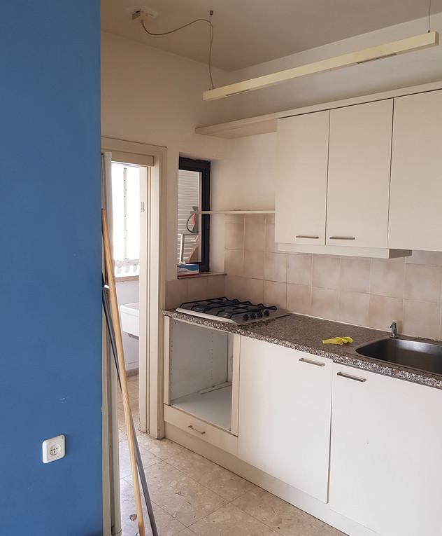 דירה בתל אביב, ג, עיצוב רונה טמקין, לפני שיפוץ - 1