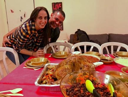 ארוחת חג ההודיה של שרון אטיאס בר מחברת Credorax