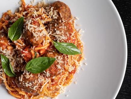 דיינר מקום של בשר ספגטי