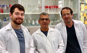 הצוות הישראלי שהוביל את המחקר על תאי הסרטן (צילום: האוניברסיטה העברית)