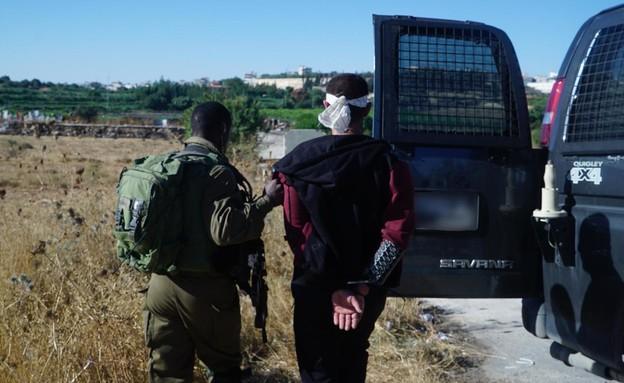 תיעוד מעצרם של המחבלים שרצחו את דביר (יהודה) שורק