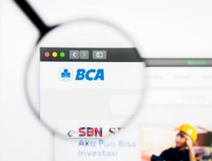 לוגו BCA בנק מרכז אסיה