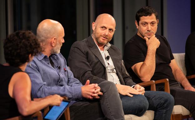יוצרי הנערים HBO (צילום: NYT photos - Maria Baranova)