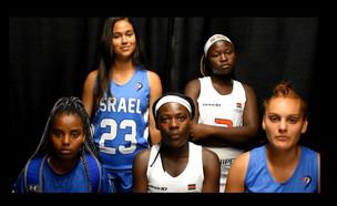 המחווה של נבחרת ישראל בלקרוס (צילום: החדשות 12)