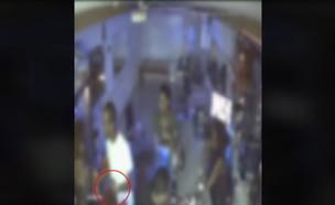 שי טסמה, החשוד בדריסת בני המשפחה בקריית גת (צילום: מצלמות אבטחה)