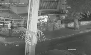 פיצוץ מטען חבלה בבני ברק (צילום: חדשות)