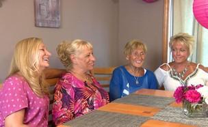אחיות מאינדיאנה נפגשות לראשונה אחרי יותר מ50 שנה (צילום: CBS)